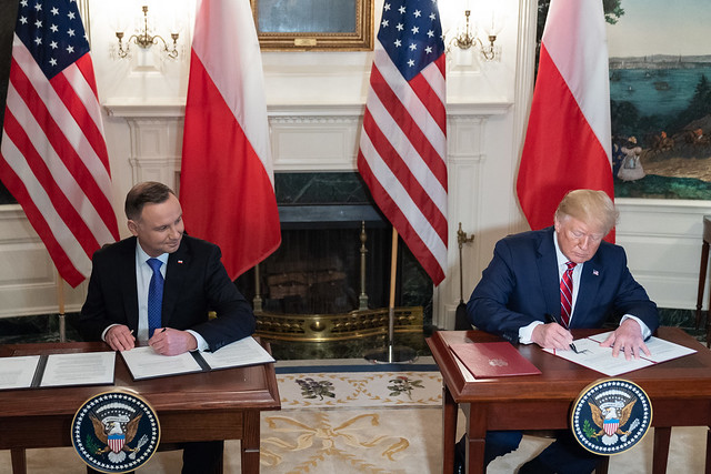 Image Source: https://www.defense.gov/explore/story/Article/1874143/us-polish-leaders-agree-to-increased-american-presence-in-poland/