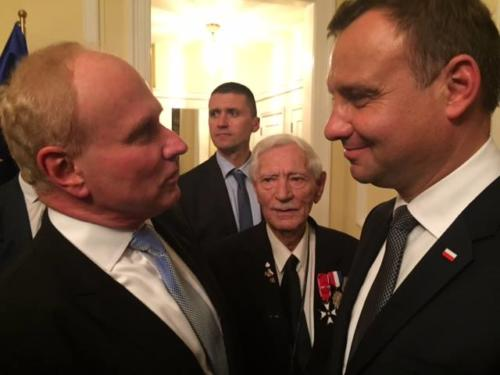 Meeting with President Andrzej Duda
